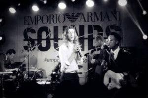 Emporio Armani lanceert muziekapp