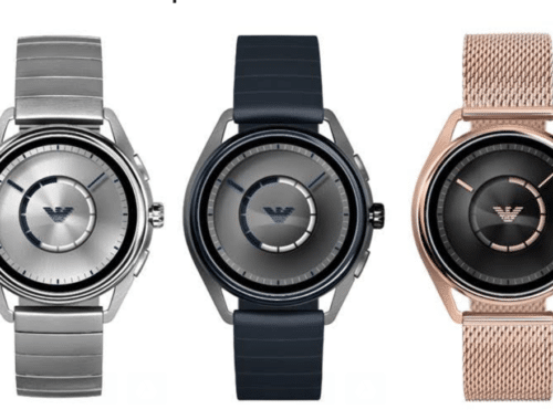 Emporio Armani touchscreen smartwatches Connected