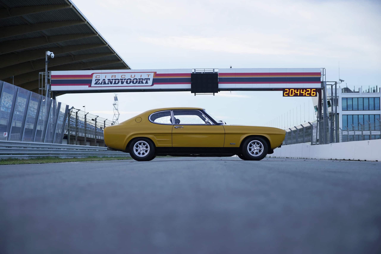 Ford Capri viert 50e verjaardag video