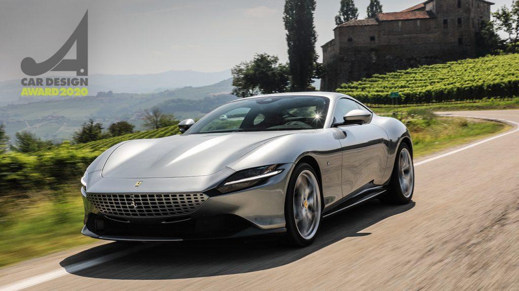 Ferrari Roma wint Car Design Award 2020