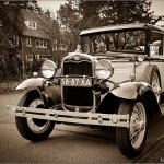 Oude Ford auto
