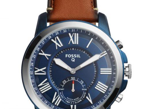 Fossil Q Grant Hybrid smartwatch winactie