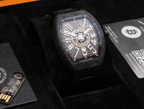 Frank Muller Encrypto bitcoin horloge