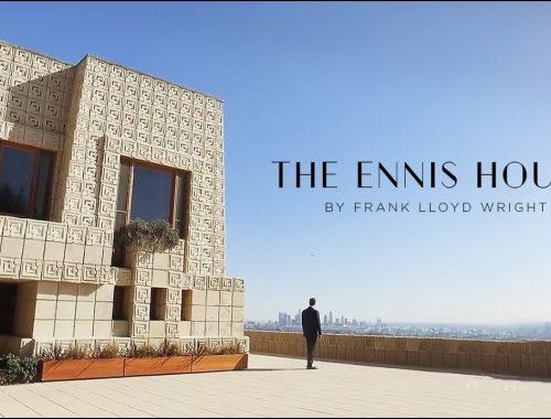 Frank Lloyd Wright Ennis House Blade Runner