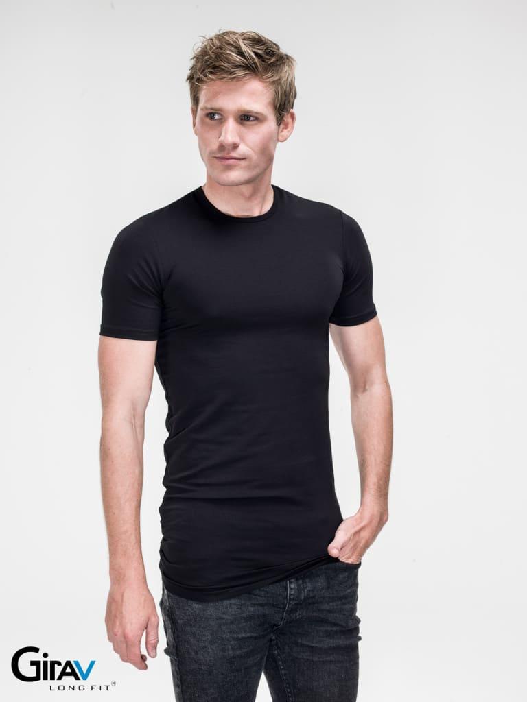 het gemak van extra lange t shirts ofwel long shirts. Black Bedroom Furniture Sets. Home Design Ideas