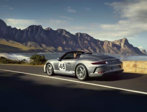 Porsche 911 Speedster Heritage Design Pakket