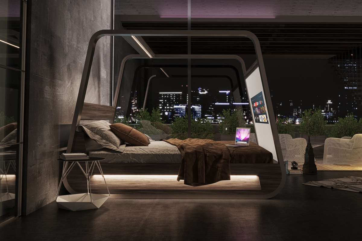 Hi-Interiors HiBed smart-bed-