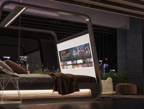 Hi-Interiors HiBed smart-bed