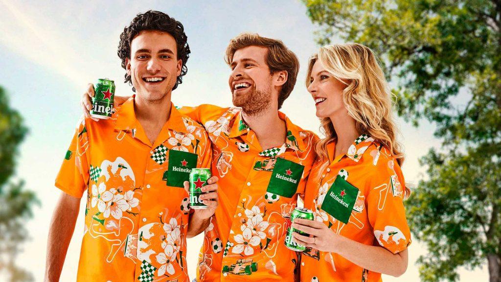 Holland Heineken Hemd maten