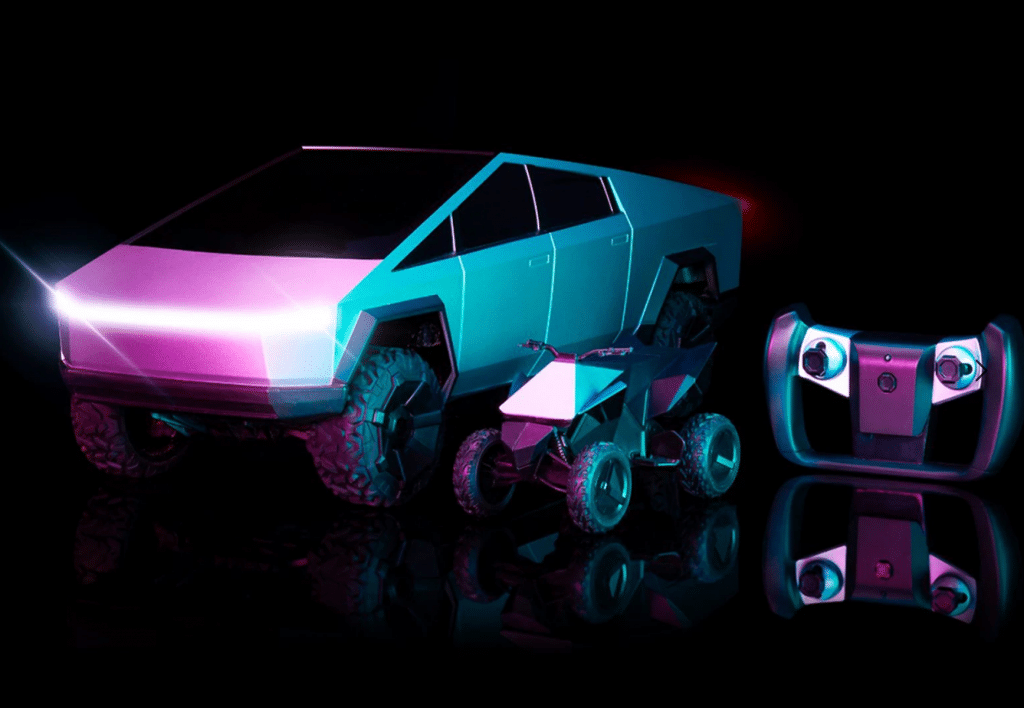 Afstand bestuurbare Tesla Cybertruck RC - Hot Wheels