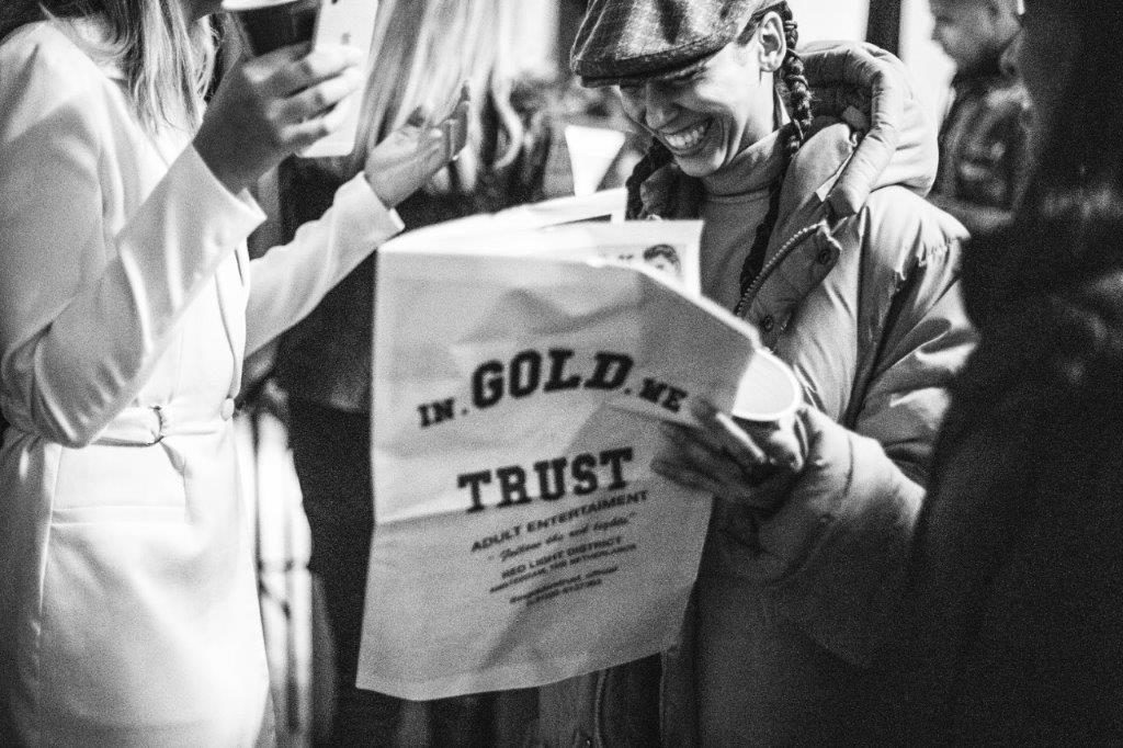 In Gold We Trust Cryptocurrency crypto coin