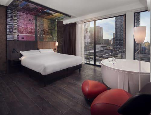 hotel arrangement bubbelbad - Inntel Hotels Utrecht Centre staycation recensie