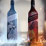 Johnnie Walker x Game of Thrones whisky - A Song of Fire whisky - A Song of Ice whisky