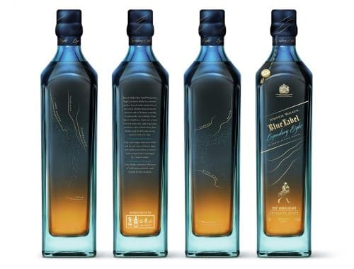 Johnnie Walker Blue Label 200th Anniversary Limited Edition fles