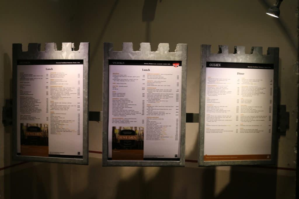 Stadskasteel Oudaen recensie restaurant utrecht