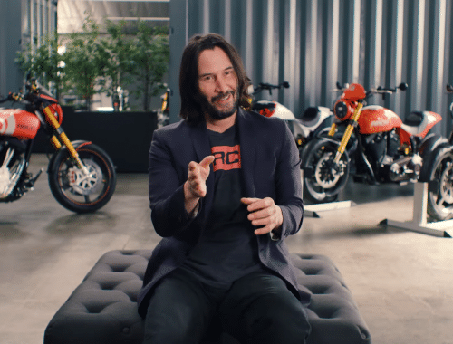 keanu reeves motorcollectie