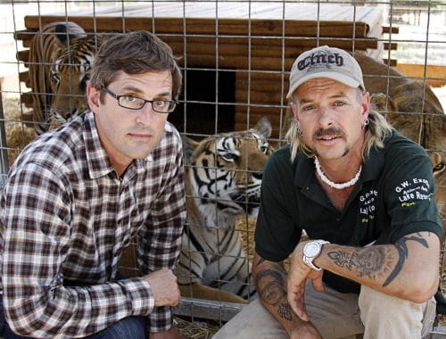 Louis Theroux Shooting Joe Exotic documentaire