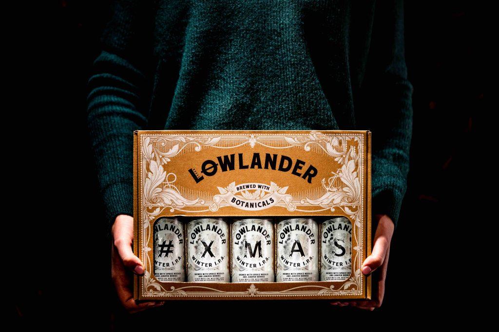 Lowlander Winter I.P.A. bier 2019 cadeauverpakking