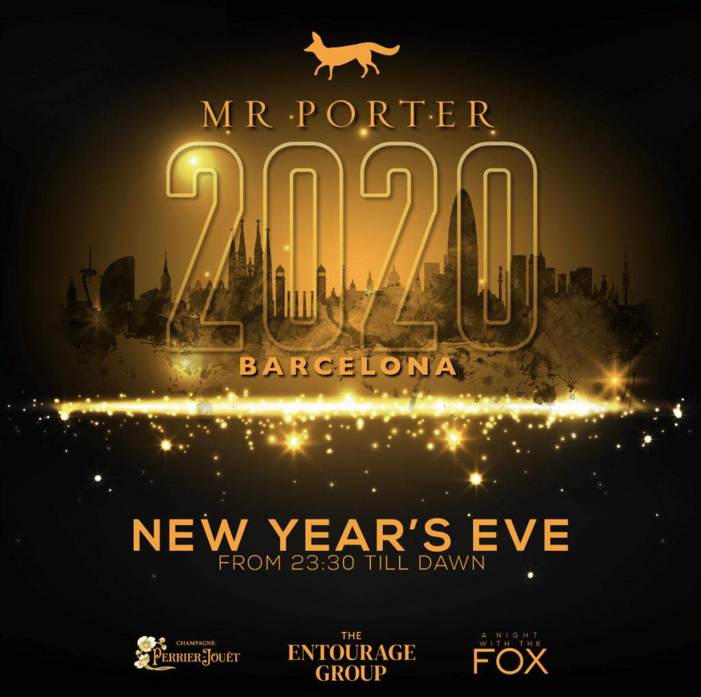 MR PORTER Barcelona NYE Party 2020