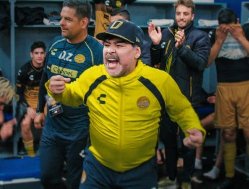 Maradona in Mexico netflix documentaire
