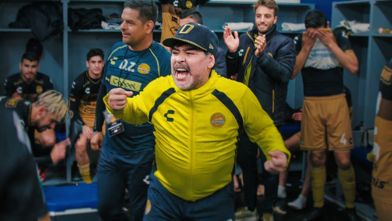 Maradona in Mexico netflix documentaire