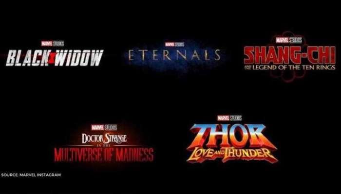 Marvel Cinematic Universe Phase 4 nieuwe data