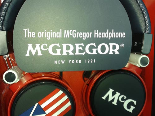McGregor headphone actiecode