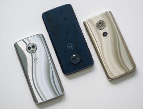 Motorola Moto G6, Moto G6 Plus, Moto G6 Play