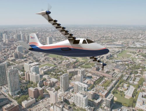 NASA X-57 Maxwell elektrisch vliegtuig