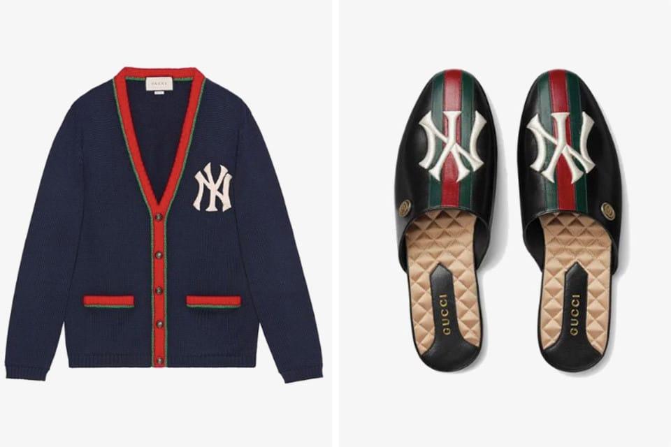 3e467d7745b NY Yankees x Gucci collectie krijg kleding en rugzakken | MANNENSTYLE