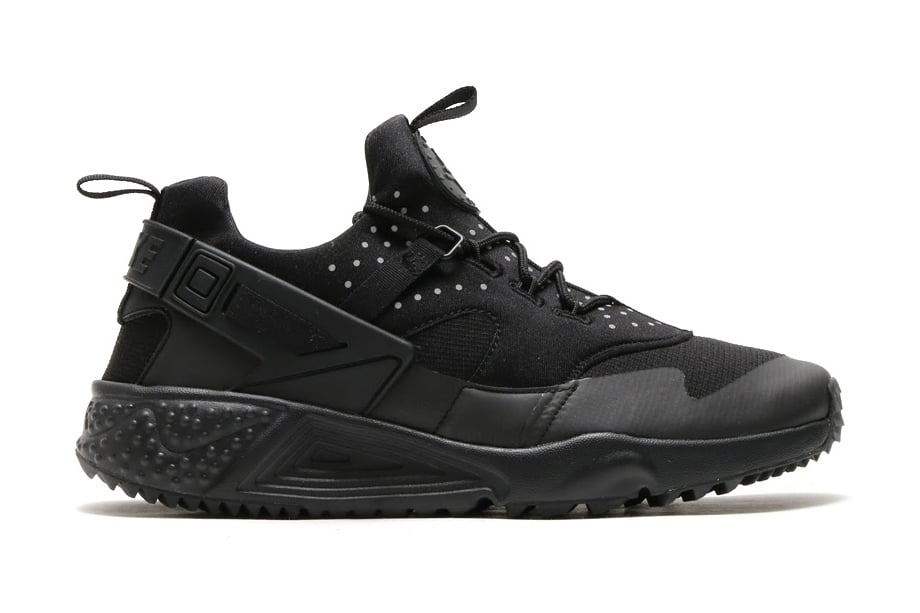 Nike Air Huarache Wit Zwart