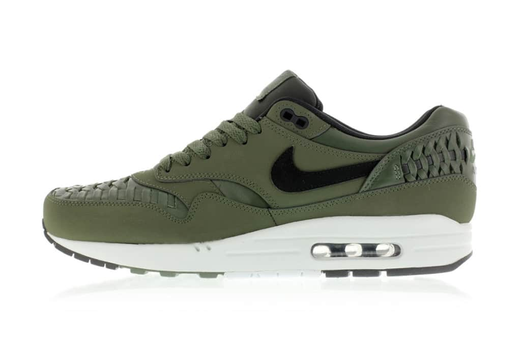 Nike Air Max 1 Woven 'Carbon Green' Sneakers Online Mannenstyle