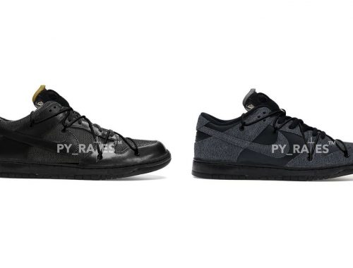 Off-White x Nike Dunk Low black black 2021