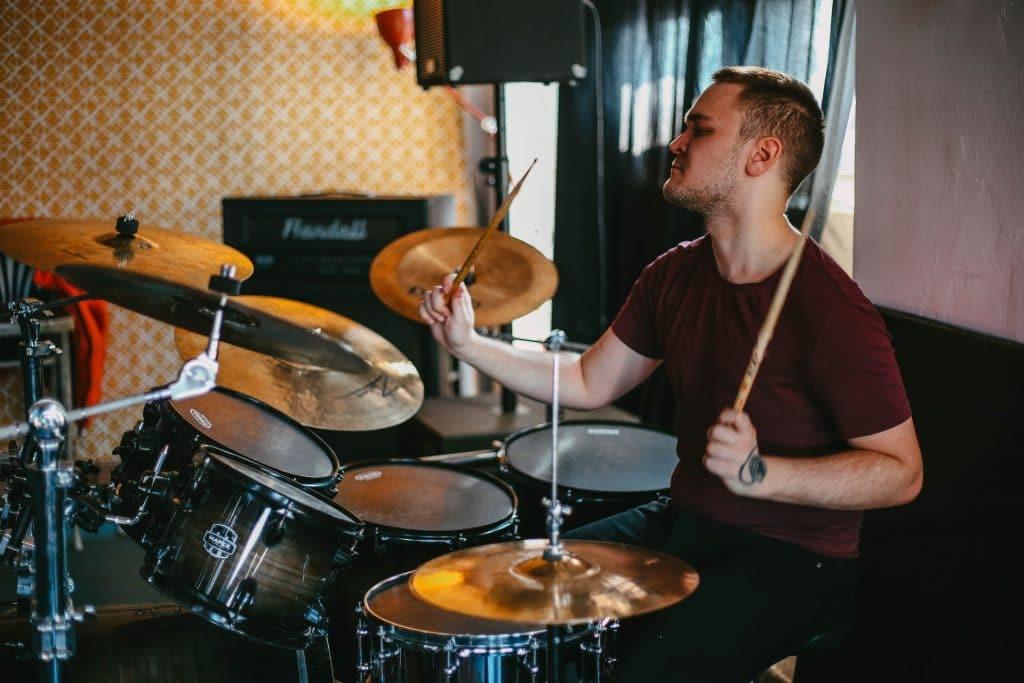 Online Drumles online leren drummen