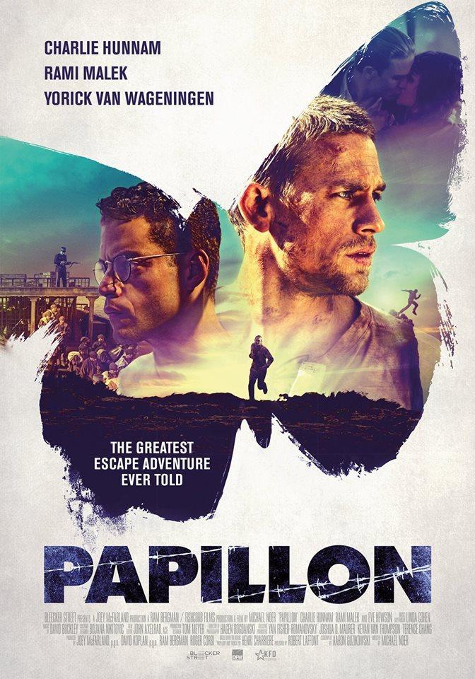 Papillon poster nl