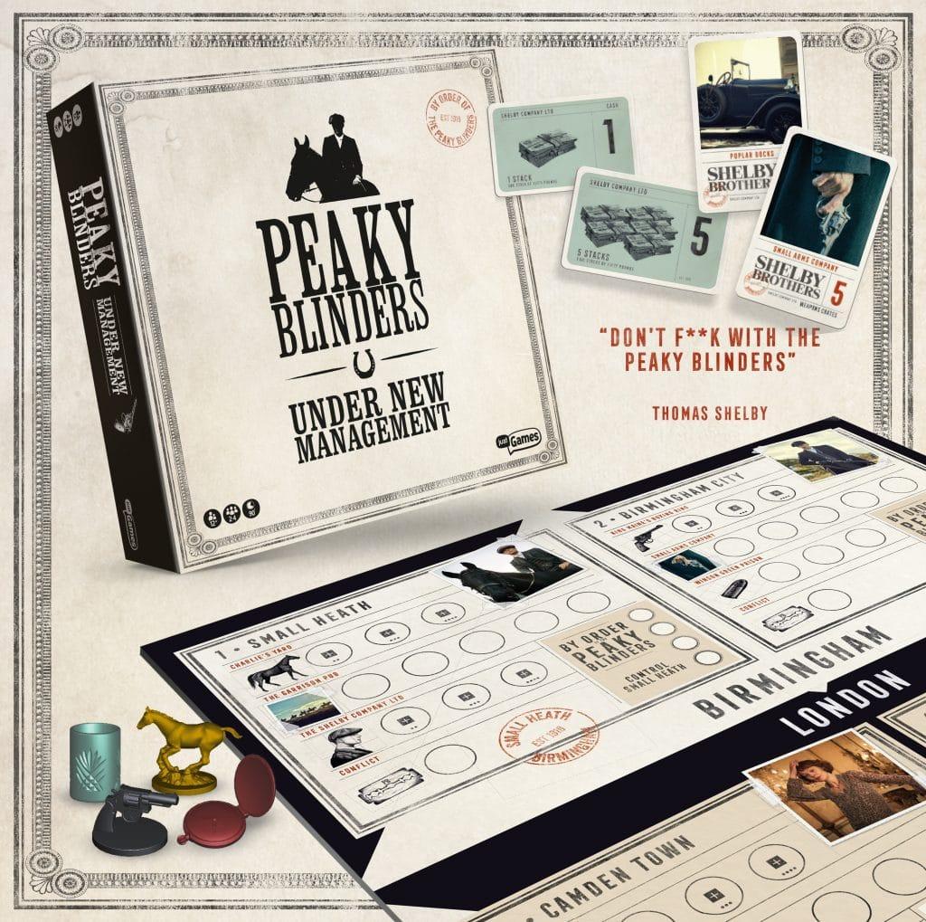 officiële Peaky Blinders bordspel