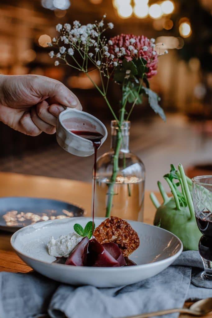 Pop-up restaurant de Vuurplaats op boerderij Eyckenstein Maartensdijk
