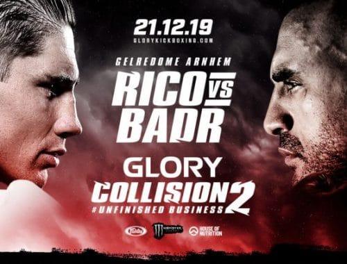 Rico Verhoeven vs Badr Hari - Glory Collision 2