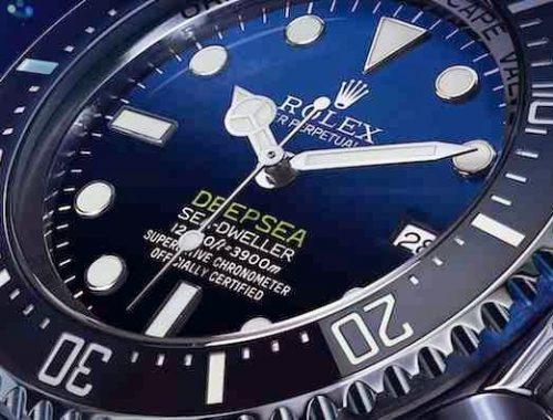 waterdichte Rolex Sea-Dweller Deepsea 116660
