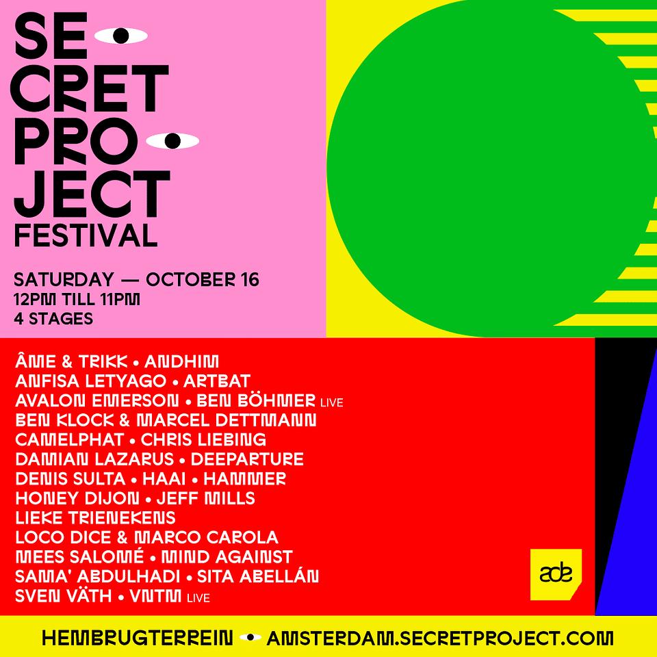 Secret Project Amsterdam Dance Event 2021 ADE