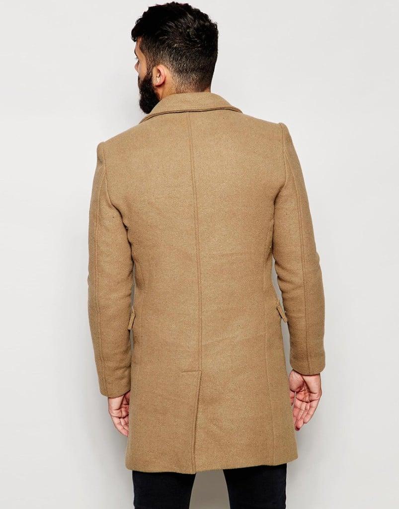 Shop de complete look! lange camel wollen herenjas online bestellen mannenstyle 3