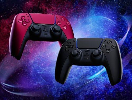 Sony nieuwe kleuren PS5 DualSense Controller rood zwart