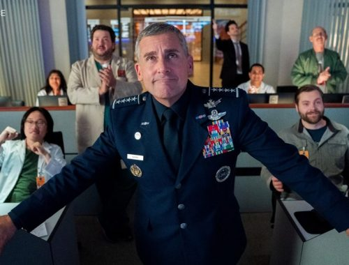 Space Force Steve Carell netflix