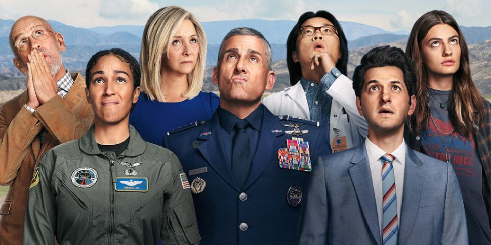 Space Force netflix trailer steve carell