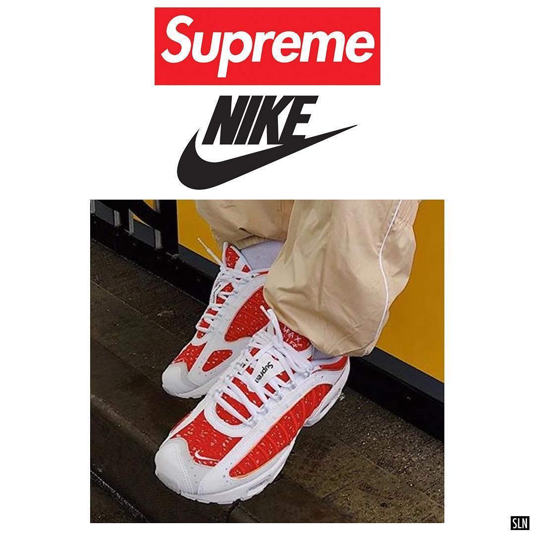 "Supreme x Nike Air Max Tailwind 4 ""Red"""