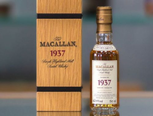The Macallan 1937 whisky
