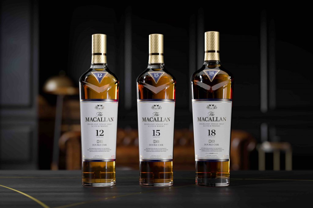 The Macallan Double Cask 15 years old & Double Cask 18 years old