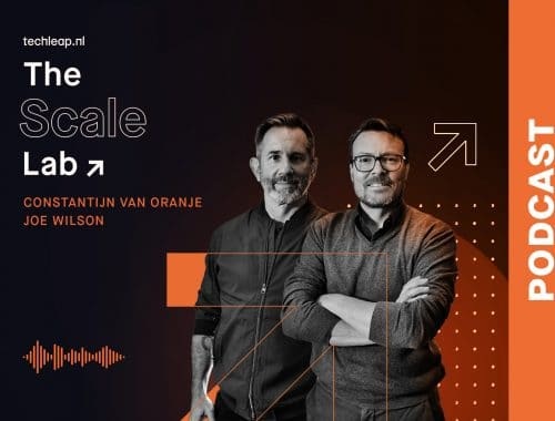 The Scale Lab podcast constantijn van oranje - joe wilson - startups