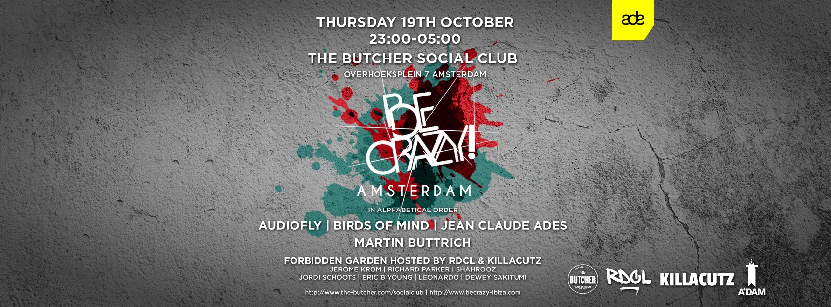 ADE Be Crazy! Ibiza goes to Amsterdam