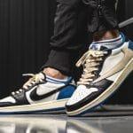 Travis Scott x fragment design x Air Jordan 1 Low releasedatum